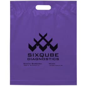 "15"" x 19"" x 3"" Die Cut Handle Bag"
