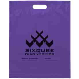 """15"""" x 19"""" x 3"""" Die Cut Handle Bag"""