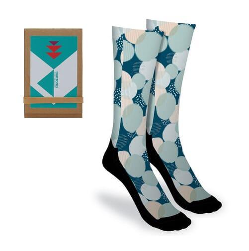 full color custom socks