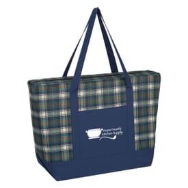Crawford Plaid Tote Bag