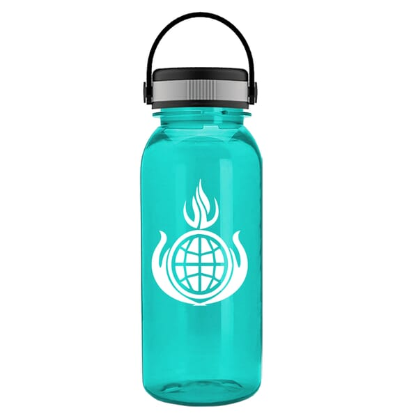 18 oz Cadet Bottle w/ EZ Grip Handle Lid