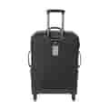 Backside of luggage