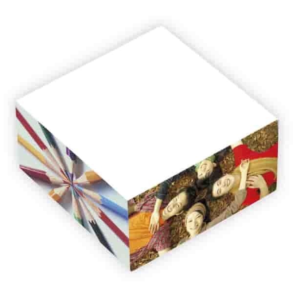 "BIC® Ecolutions® 3"" x 3"" x 1-1/2"" Adhesive Cube"