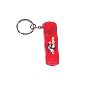 Whistle, Light And Compass Key Chain