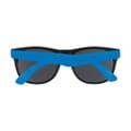 Back view of folded sunglasses