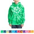 Port & Company® Youth Tie-Dye Pullover Hooded Sweatshirt