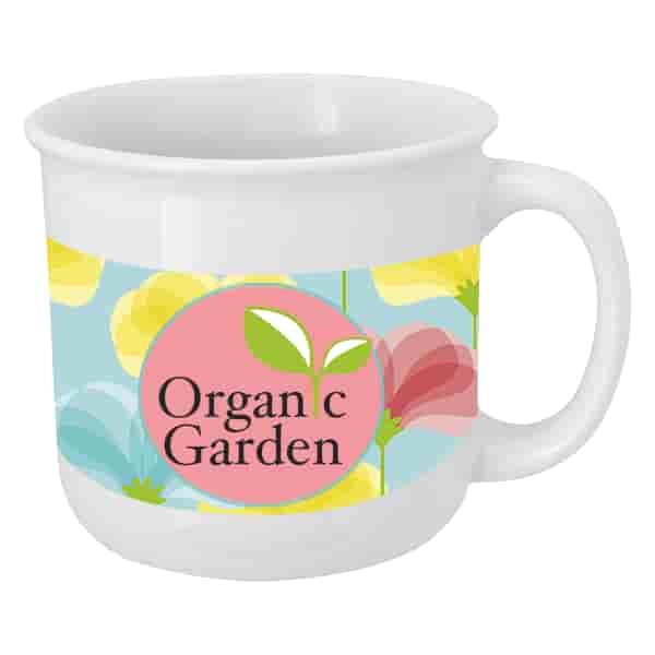 15 oz Full Color Mug with Flared Opening