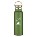 21 oz Tipton Stainless Steel Bottle With Wood Lid