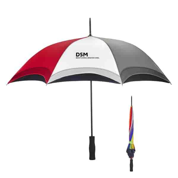 "46"" Arc Rainbow Umbrella"