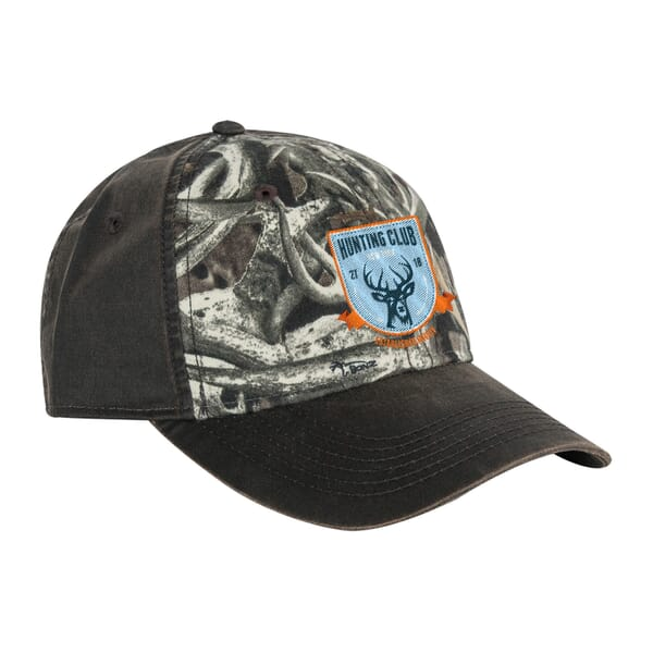 DRI DUCK Field Pattern Colorblock Waxy Back Cap