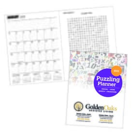2021 Puzzling Planner