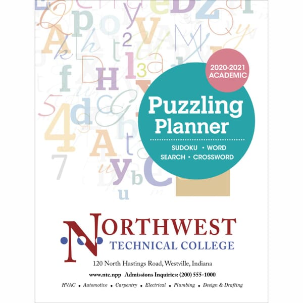 2019-2020 Academic Puzzling Planner