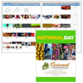 2022 National Day Planner