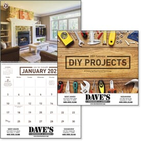 2021 DIY Projects Calendar