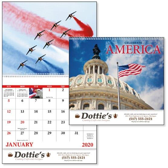 2021 Celebrate America - Spiral