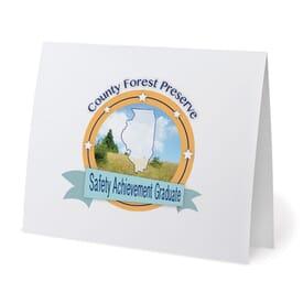 Digital 4 Color Certificate Holder