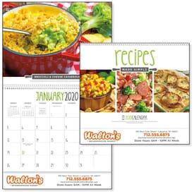 2021 Recipes Made Simple Calendar
