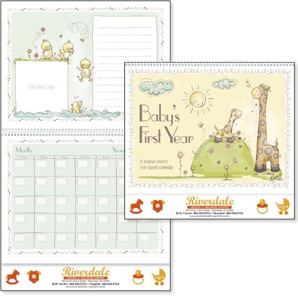 2021 Baby's First Year Calendar by Rachelle Anne Miller