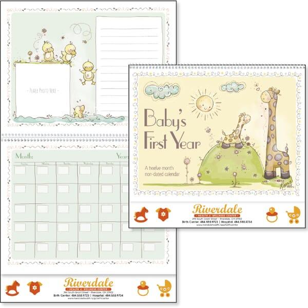 2021 Baby's First Year Calendar by Rachelle Anne Miller