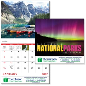 2021 Canadian National Parks - Stapled