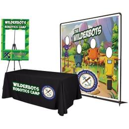 Fun Tradeshow Display and Photo Booth