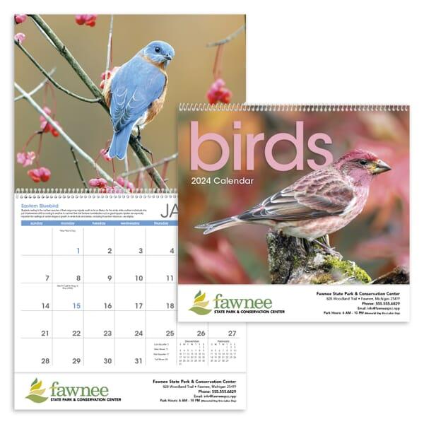 2021 Birds Calendar