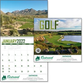 2021 Golf Calendar
