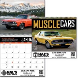 2021 Muscle Cars Calendar