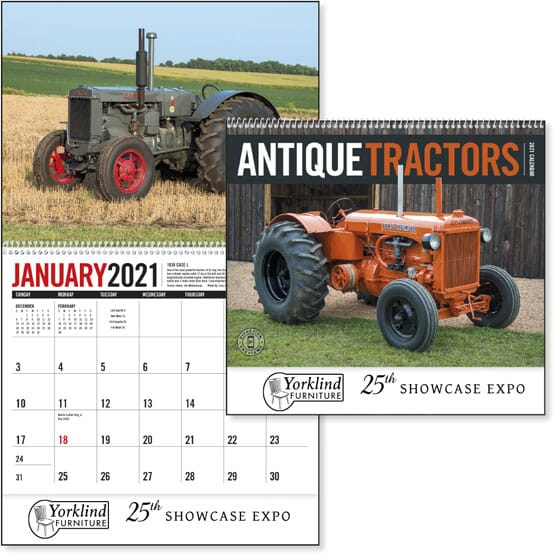 2021 Antique Tractors Calendar