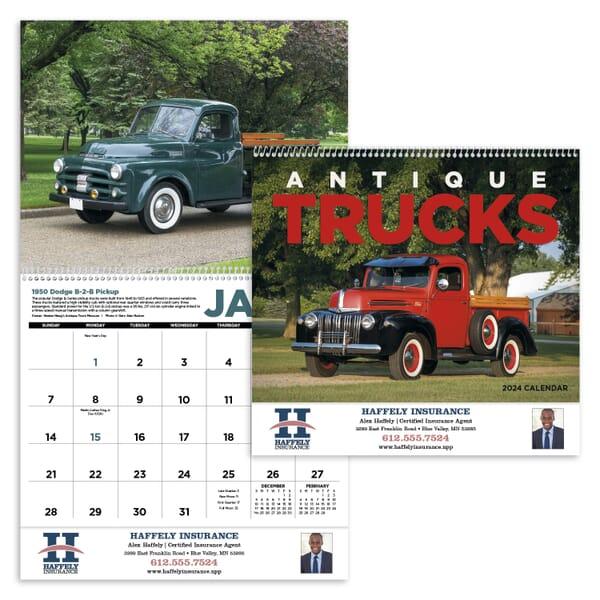 2021 Antique Trucks Calendar