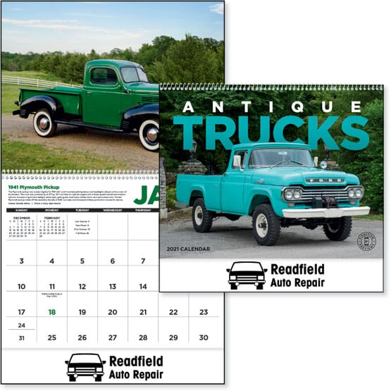 2021 Antique Trucks Calendar