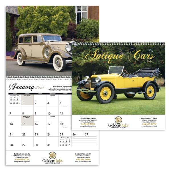 2021 Antique Cars Calendar