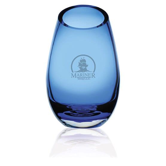 Cairo Blue Vase