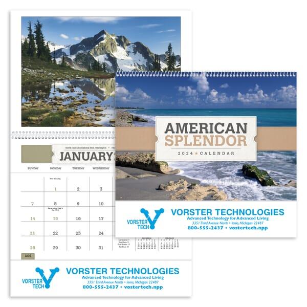 2020 American Splendor Pocket Calendar