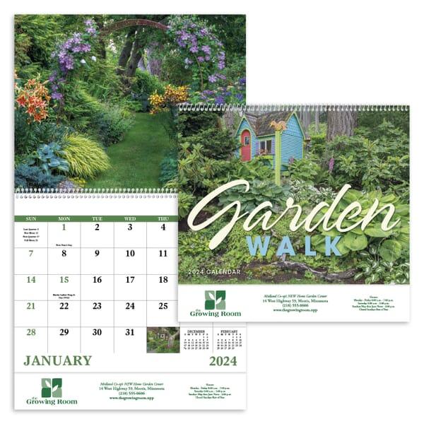 2021 Garden Walk - Spiral Calendar