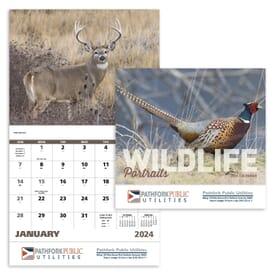 2021 Wildlife Portraits - Stapled Calendar