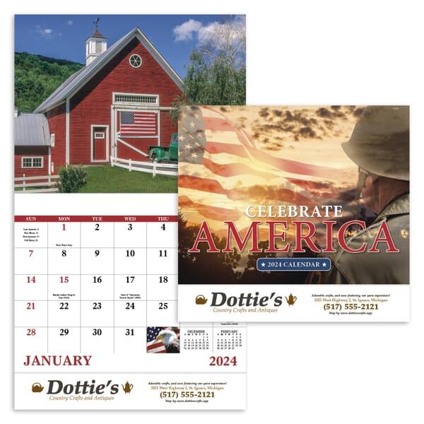2021 Celebrate America - Stapled Calendar