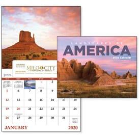 2022 Landscapes of America - Window Calendar