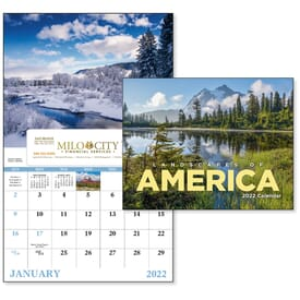 2021 Landscapes of America - Window Calendar
