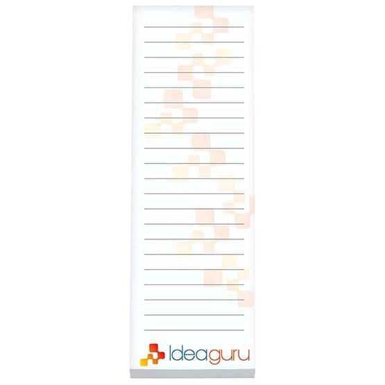 "BIC® 3"" x 9"" Non-Adhesive Scratch Pad, 25 Sheet Pad"