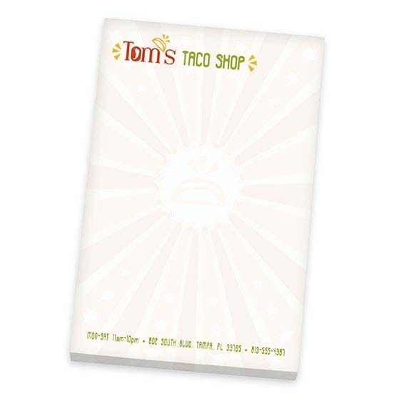 "BIC® 4"" x 6"" Non-Adhesive Scratch Pad, 25 Sheet Pad"