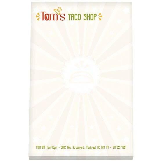 "BIC® 4"" x 6"" Non-Adhesive Scratch Pad, 50 Sheet Pad"