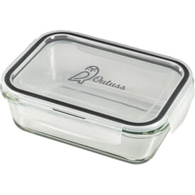 Glass Leakproof 875ml Food Storage Container