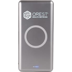 UL Listed Light Up Qi 10000 Wireless Power Bank