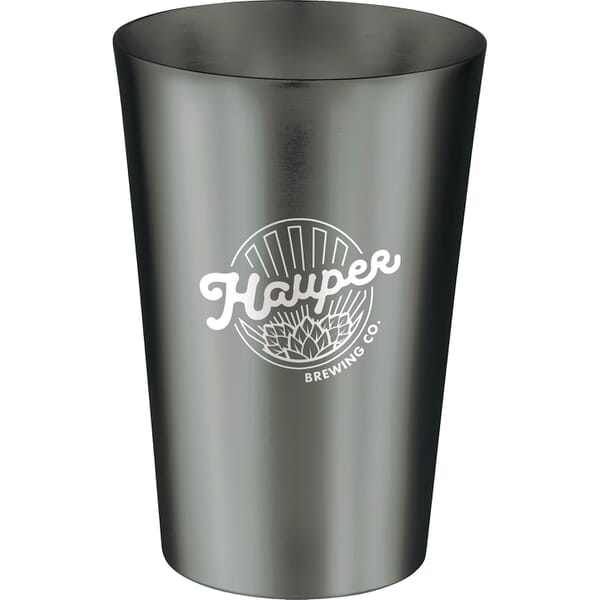 14 Oz Glimmer Pint Glass 123155