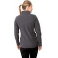 Back of shirt on model