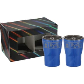 12 oz Glacier Tumbler 2 in 1 Gift Set