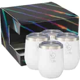 12 oz Corzo Cup 4 in 1 Gift Set