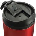 Closeup of lid open
