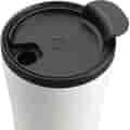 Tumbler lid - open